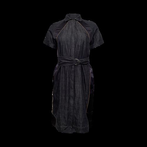 Brunello Cucinelli Belted Denim Dress