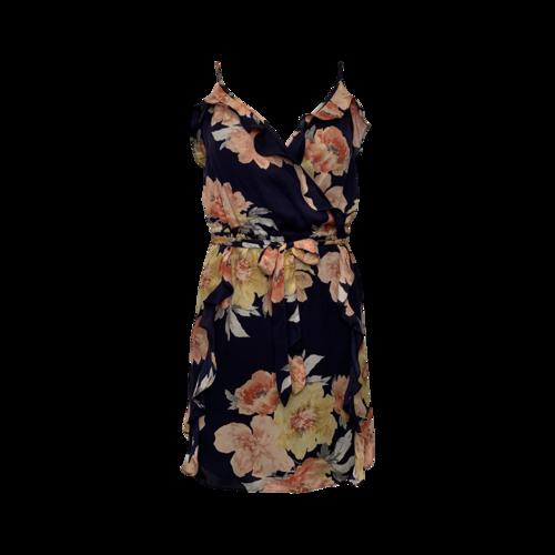"""Joie Dark Navy """"Foxglove"""" Floral Dress"""