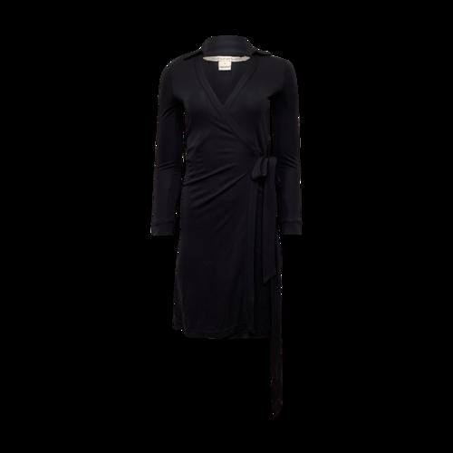 Diane von Furstenberg Dark Navy Blue Wrap Dress