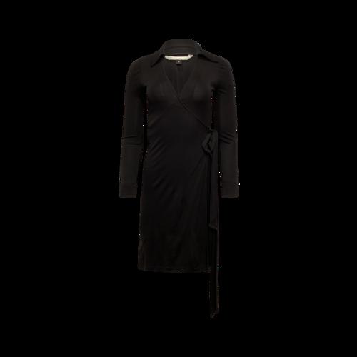 Diane von Furstenberg Classic Black Wrap Dress