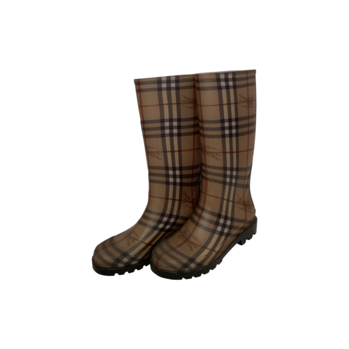 Burberry Heymarket Rain Boots