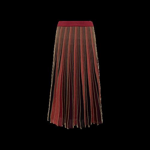 MAX&Co. Multi-Color Sparkly Accordion Pleat Skirt