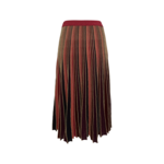 Multi-Color Sparkly Accordion Pleat Skirt