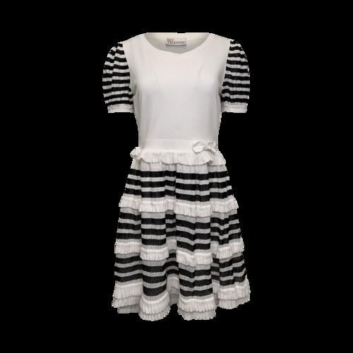 Valentino Striped Cotton Dress