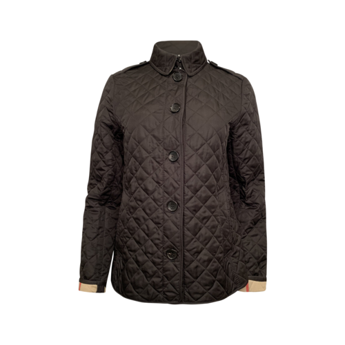 Burberry Black Quilted Jacket