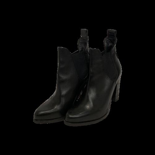 rag & bone Black Chunky Heel Booties