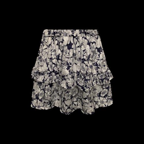 Rebecca Minkoff Floral Tiered Skirt