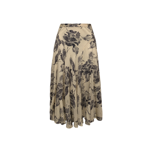 Anne Klein Floral Print Skirt