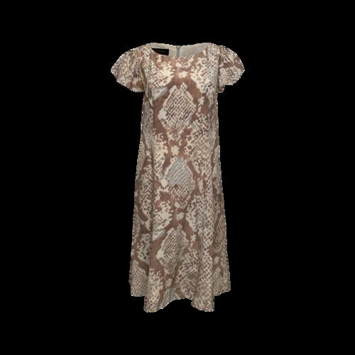 Escada Beige Printed Dress
