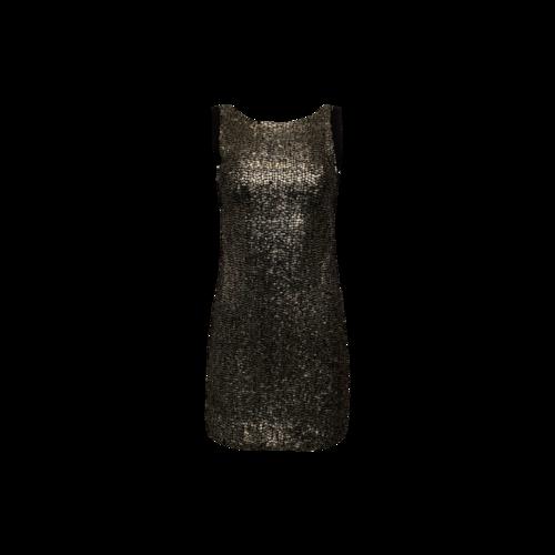 Rebecca Minkoff Contrast Sequin Dress