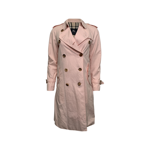 Burberry Light Pink Trench Coat