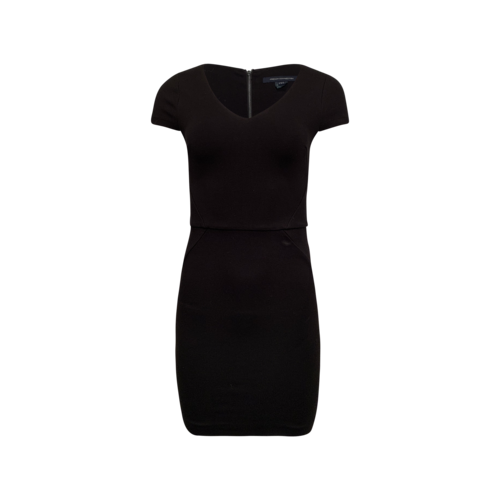 French Connection Black Body-Con Dress