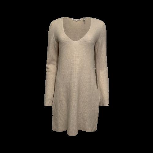Helmut Lang Oversized Beige Sweater