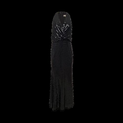 Calvin Klein Black Sequin Gown
