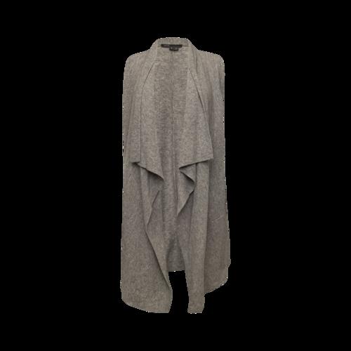 Vince Grey Open Cashmere Vest