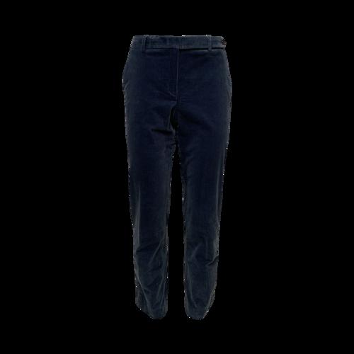 Theory Metal Blue Modern Corduroy Pants