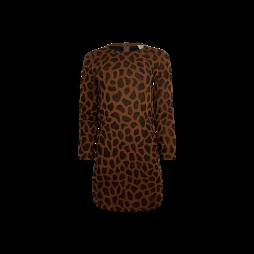 3.1 Phillip Lim Animal Print Wool Dress