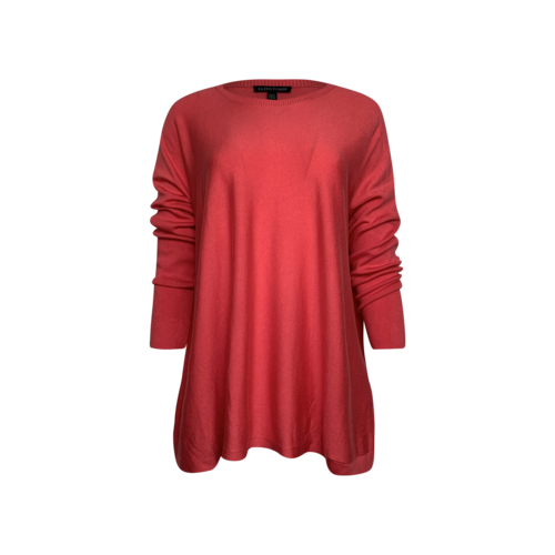 Eileen Fisher Pink Roundneck Boxy Sweater