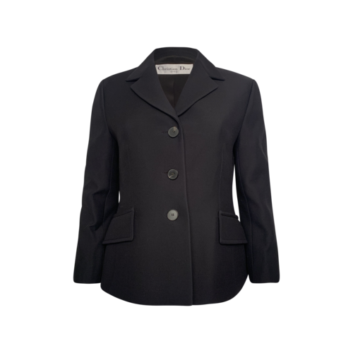 Dior Black Classic Tailored Blazer