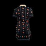 Floral Polo Shirtdress w/ Belt