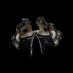 "Silver Metallic ""Niki"" Heels"