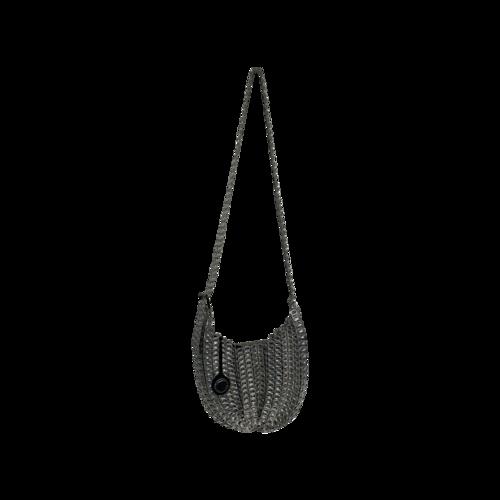 """BottleTop Silver """"Bellani"""" Mini Chain Mail Bag"""