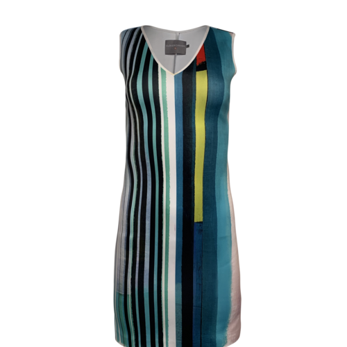 CLOVER CANYON Multi-Color Striped Dress