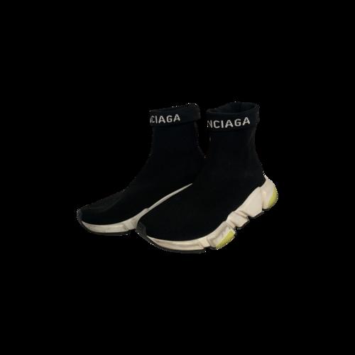 Balenciaga Black Speed Trainer Sock Sneakers