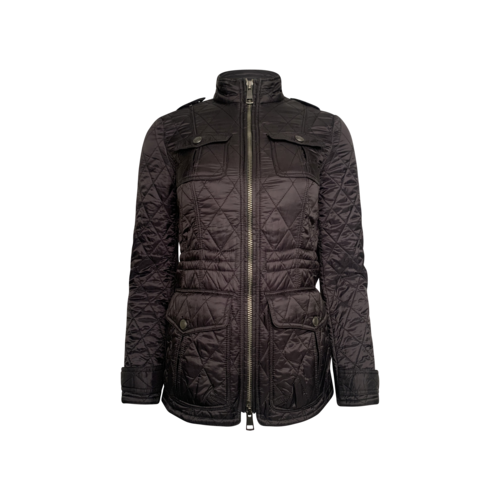 Burberry Black Burberry Brit Quilted Jacket