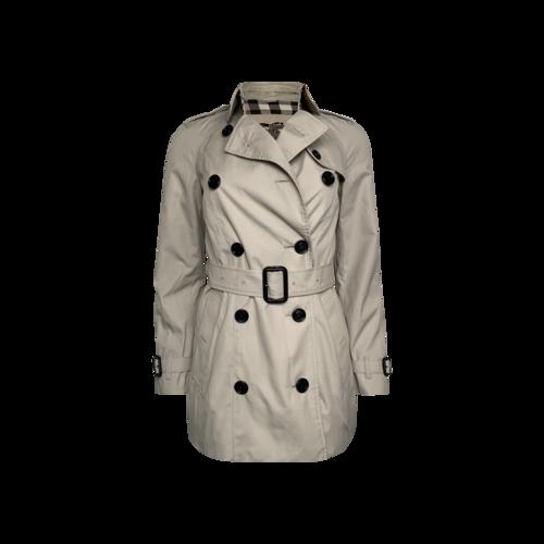 Burberry Short Burberry Prorsum Trench Coat