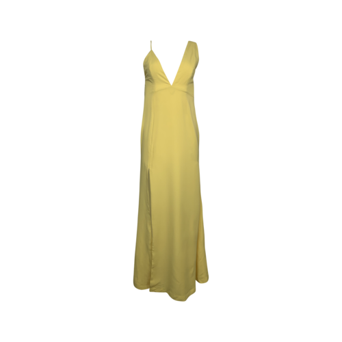 """NBD Yellow """"Allister"""" Gown"""