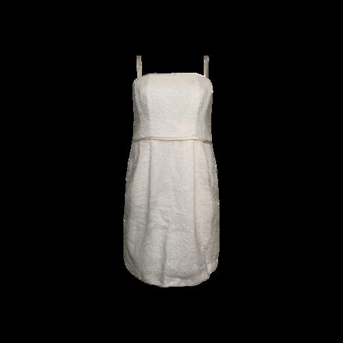 Nanette Lepore White Sequin Dress