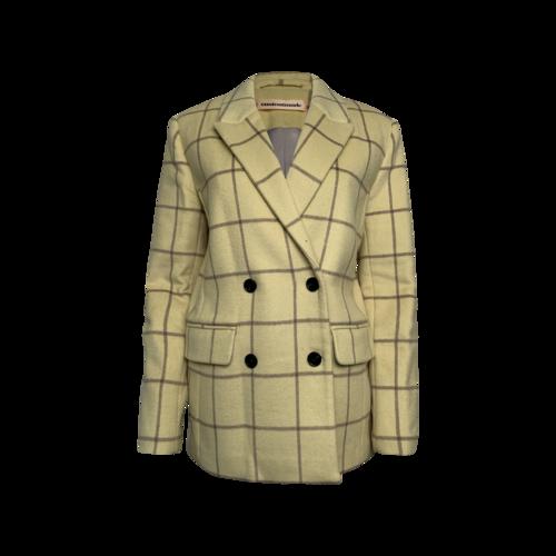 "Custom Made Sunlight Yellow ""Harper"" Jacket"
