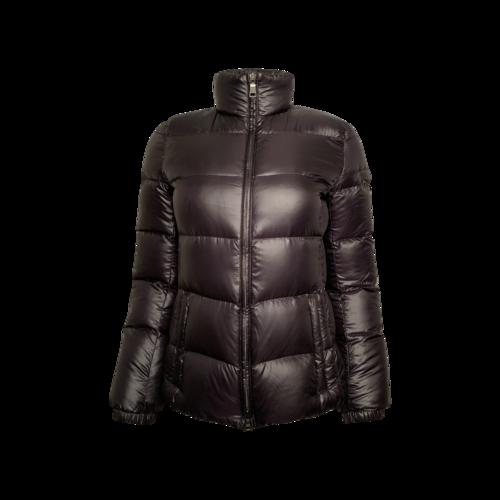 Prada Black Logo Puffer Jacket
