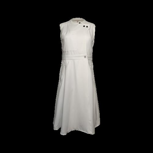 Rachel Roy White Sleeveless Utility Wrap Dress