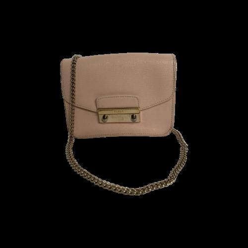 Furla Pink Metropolis Mini Crossbody Bag