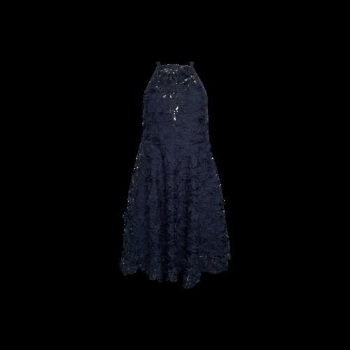 Keepsake The Label Navy Lace Applique Dress