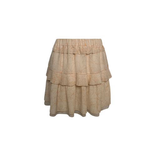 """Chloé Soft Pink Pleated """"Georgette"""" Skirt"""