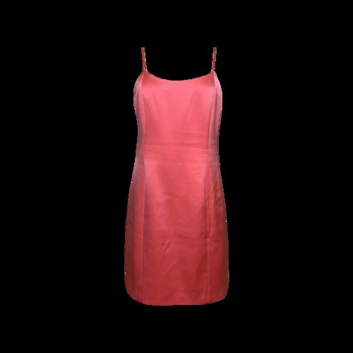 "Alice + Olivia Pink ""Harmony"" Mini Slip Dress"