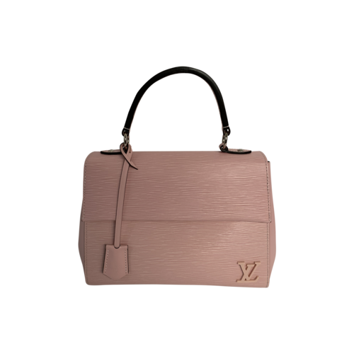 Louis Vuitton Pink Cluny Top Handle Epi Leather Bag