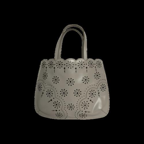 Alaïa Beige Studded Mini Bag