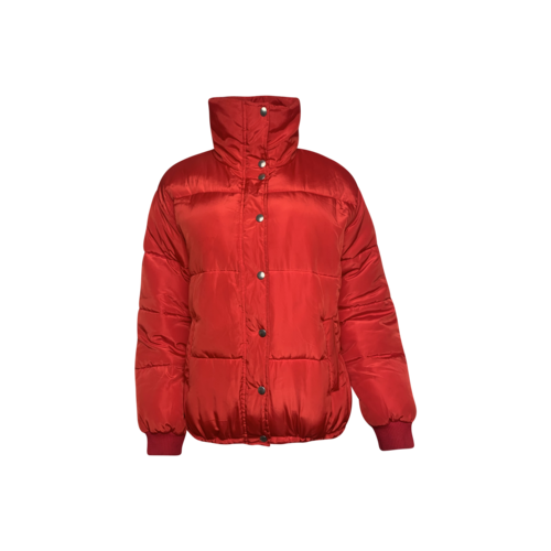 Lovers and Friends Red Puffer Jacket