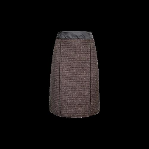 Marc Jacobs Grey Tweed Pencil Skirt