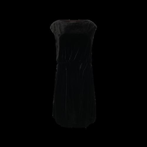 Theory Black Velvet Dress