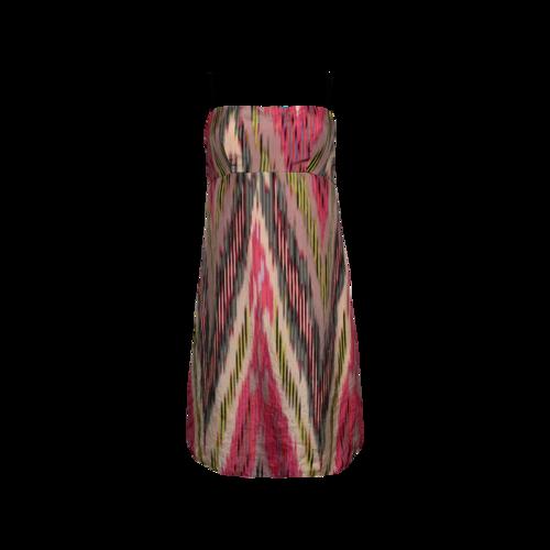 Nanette Lepore Multi-Color Brushstroke Print Dress