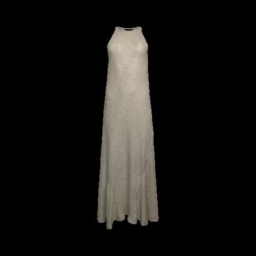 Ralph Lauren Beige Knit Racerback Maxi Dress