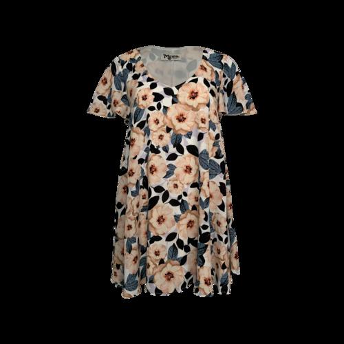"Show Me Your Mumu ""Kylie"" Mini Dress in Steel Magnolia Print"