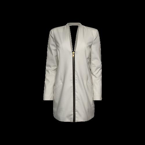 Michelle Mason White Blazer Dress