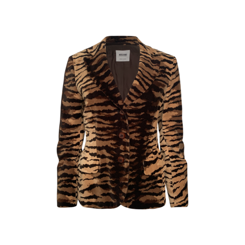 Moschino Tiger Print Jacket