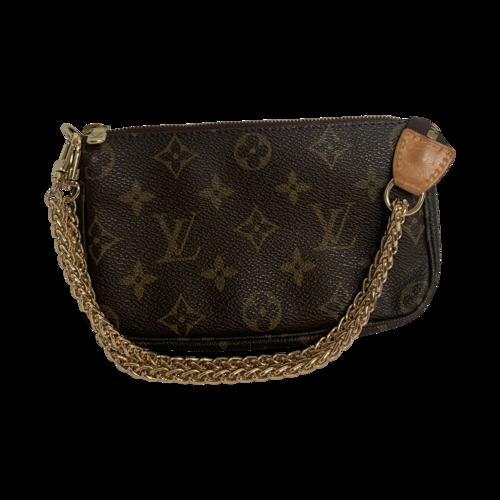 Louis Vuitton Monogram Mini Pochette Bag